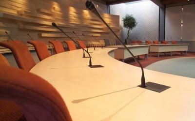 Raadszaal  voor  de  gemeente  Maassluis